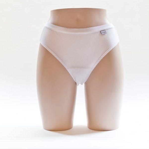 Women's Thong White