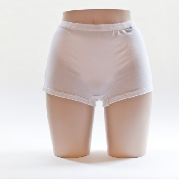 Women's Boxer Shorts White