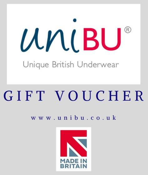 Unibu Underwear Gift Voucher